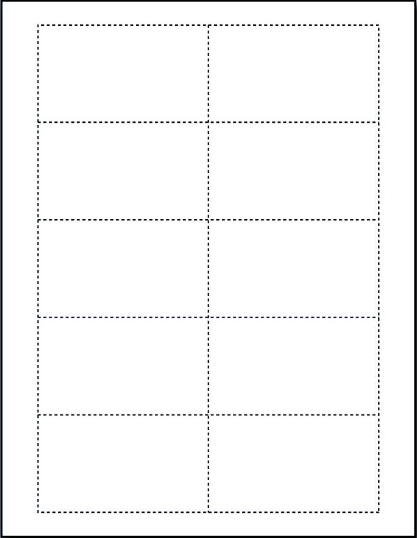 microsoft word card template blank - Etame.mibawa.co