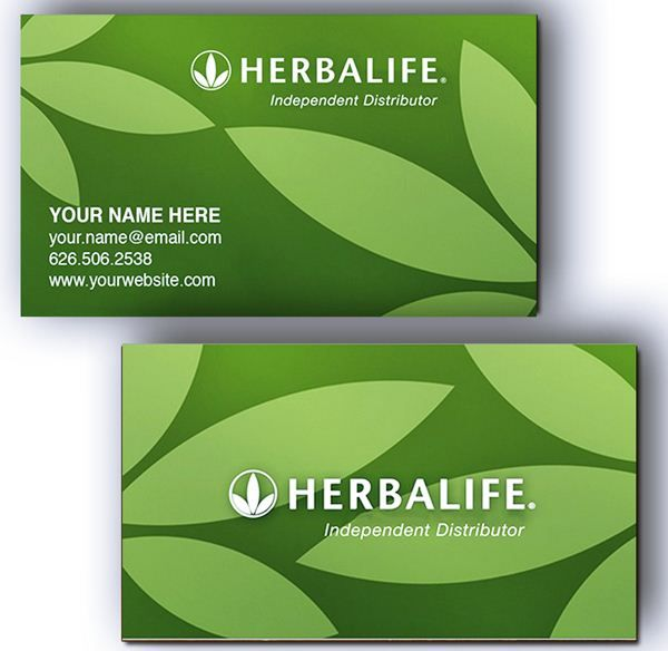 Herbalife Business Card Templates EmetOnlineBlog - Herbalife business card template