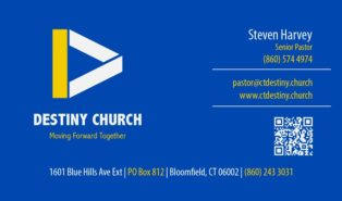 church business cards templates free