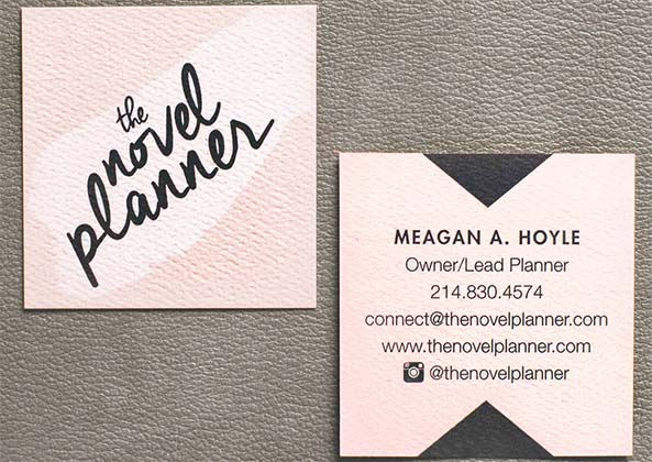 mini square business card template