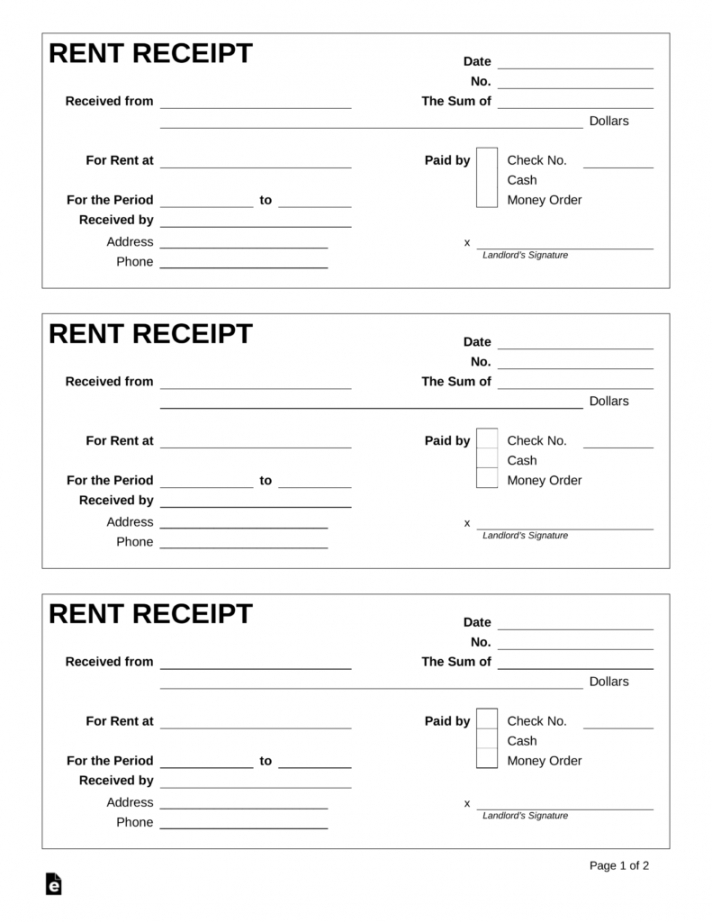 house rent receipt format india with revenue stamp