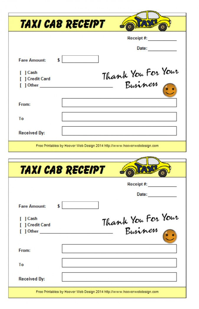 It's just a graphic of Astounding Printable Taxi Receipts